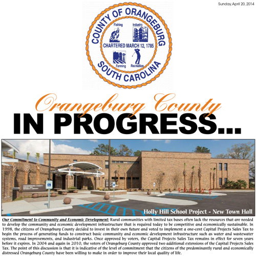 County of Orangeburg