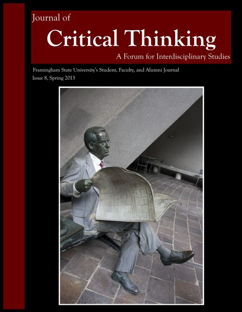 The Journal of  Critical Thinking 2012-2013