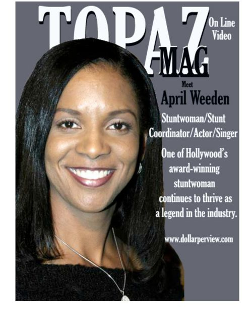 "Topaz Mag 1st  edition ""April Weeden"""