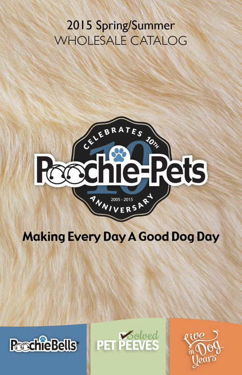 Poochie-Pets 2015 Spring Products Catalog