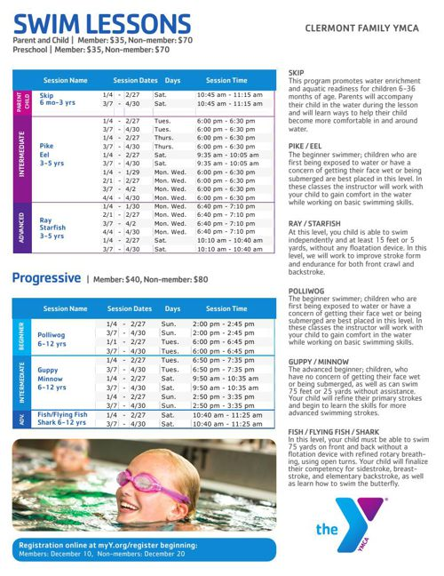 Clermont Family YMCA Program Guide