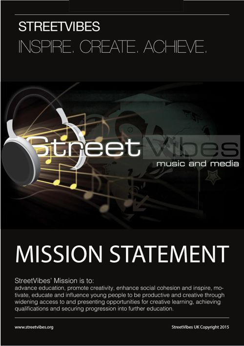 StreetVibes Mission Statement