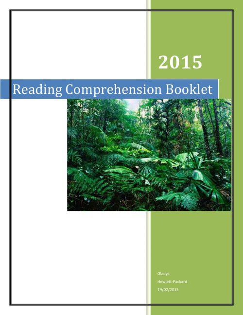 READINGBOOKLET