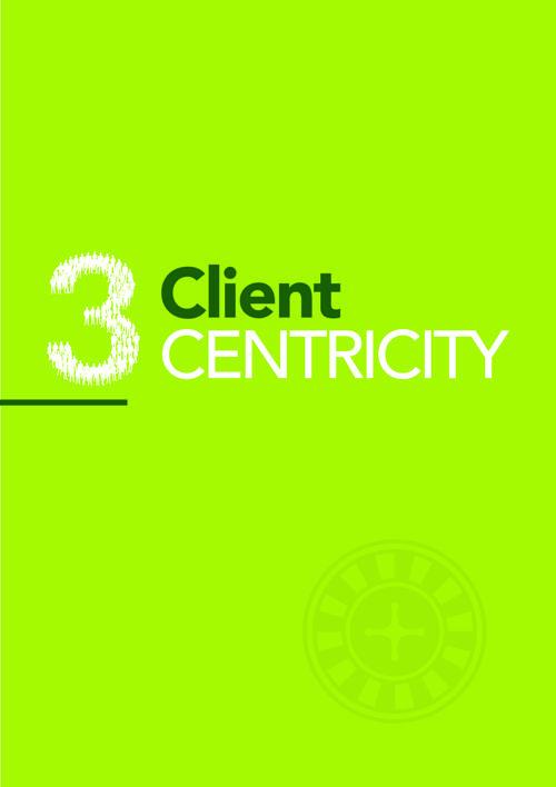 3. CLIENT CENTRICITY