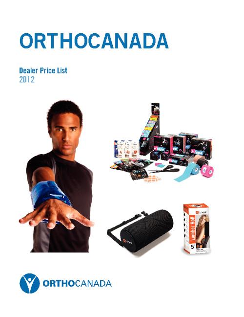 OrthoCanada - Dealer Price List