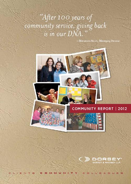Dorsey Community Report