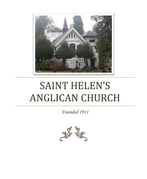 Saint Helen's Anglican Church - A History