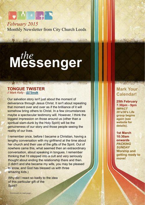 The Messenger - February 2015