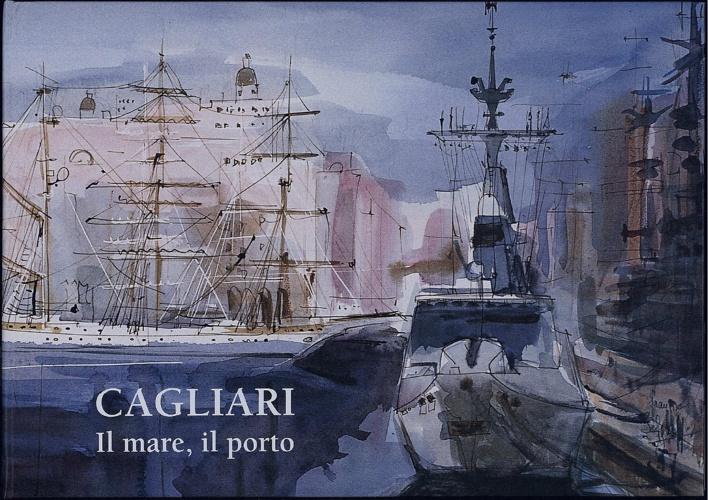 Cagliari il mare, il porto