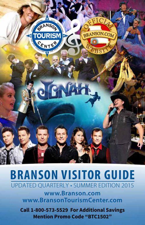 Branson 2015 Visitor Guide