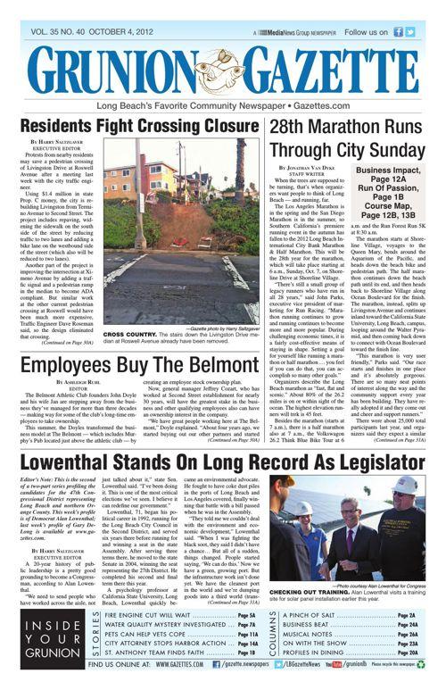 Grunion Gazette | October 4, 2012