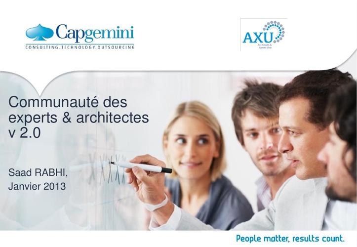 Communauté des experts & architectes v2.0