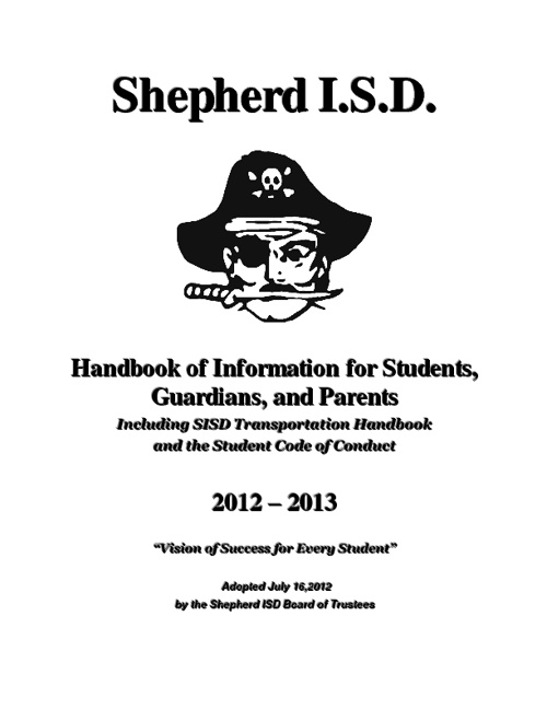 SISD Student Handbook 2012-13