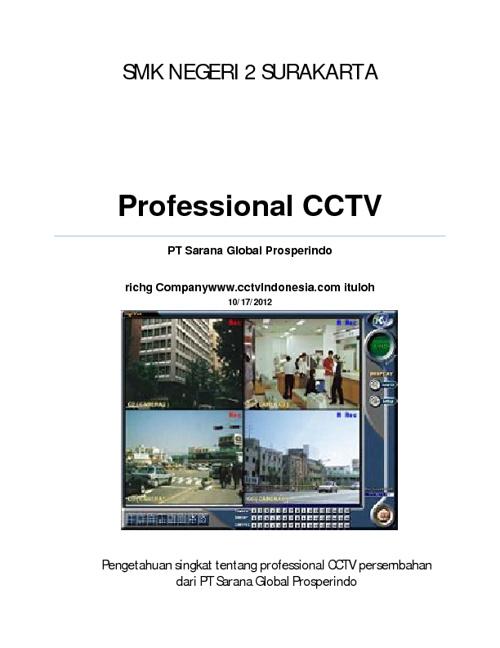 Profesional cctv
