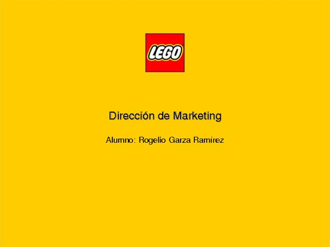 LEGO Mkting