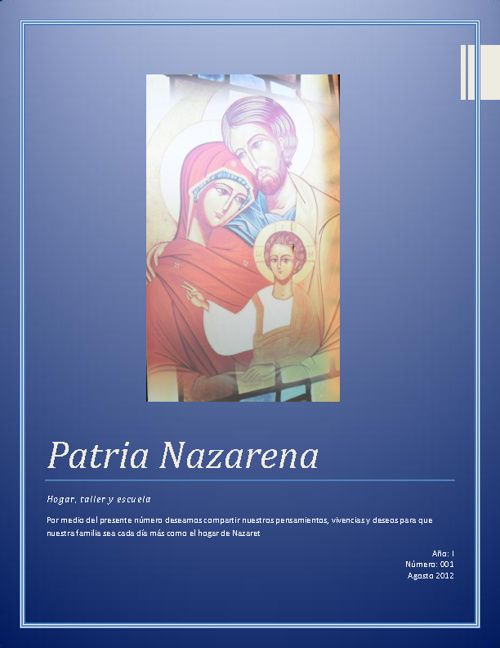 Patria Nazarena Número 1