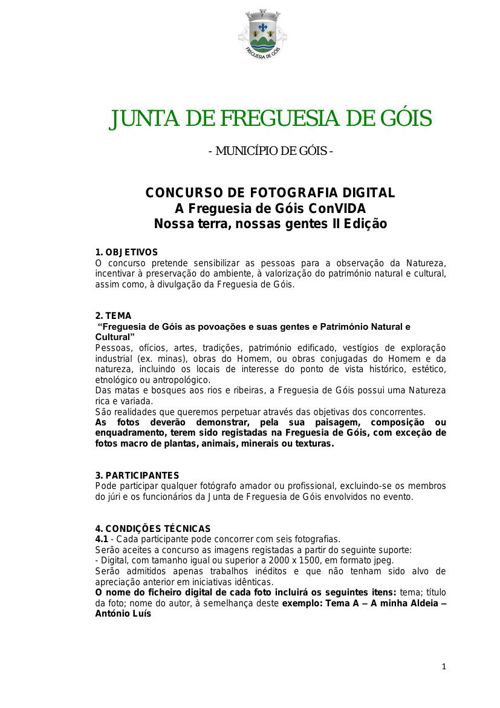 II CONCURSO DE FOTOGRAFIA DIGITAL