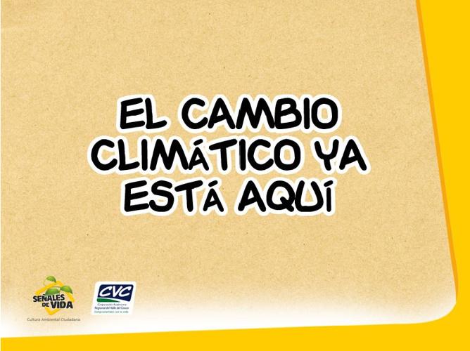 Cambio Climático y mucho mas