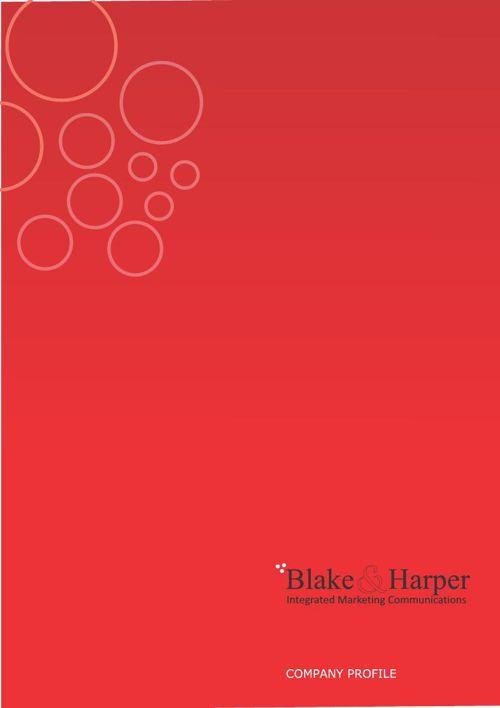 Blake and Harper Corporate Profile