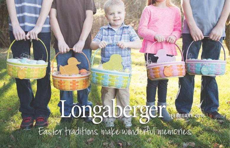 Longaberger Baskets February 2016 Flyer