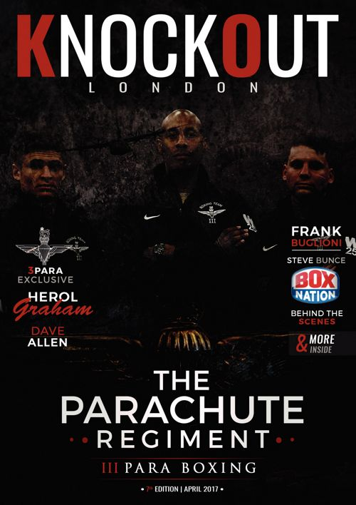 KnockOut London Magazine 7 - The Parachute Regiment - 3 Para