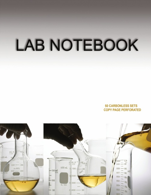 Barbakam Lab Notebook Spiral Bound ( Copy Page Perforated)