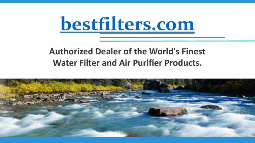 Water Filter and Air Purifier Products