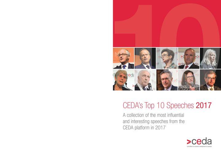 CEDA Top 10 Specches of 2017 Landscape