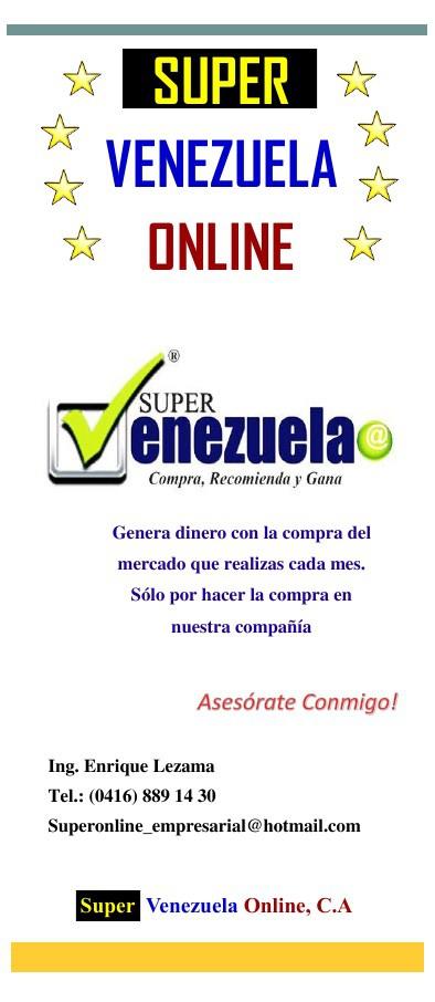 Información Super Venezuela Online, C.A