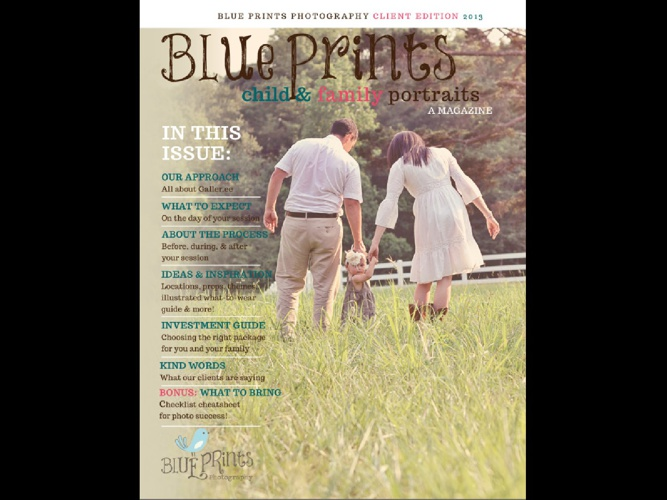 Blue Prints Photography Client Guide