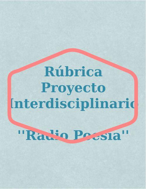 Copia de Copia de Copia de Rúbrica Interdisciplinario.docx.docx