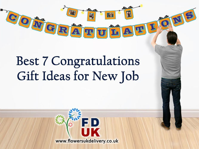 Best 7 Congratulations Gift Ideas for New Job