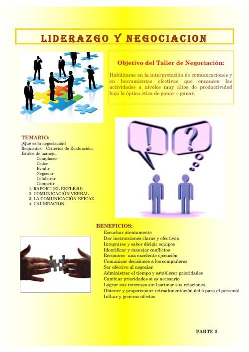 Liderazgo y Negociacion 2
