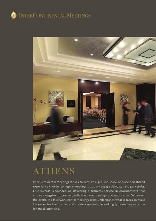 Athenaeum InterContinental Athens Meetings Factsheet