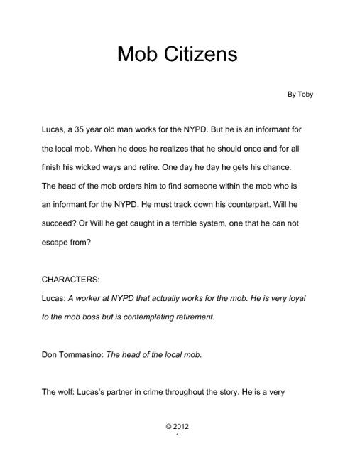 Mob Citizens