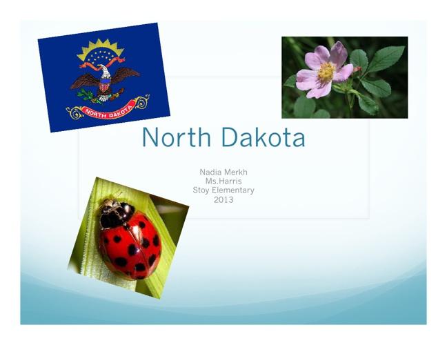 North Dakota by Nadia