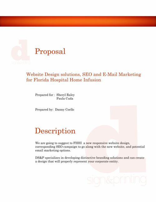 DS&P Client Proposal - FHHI