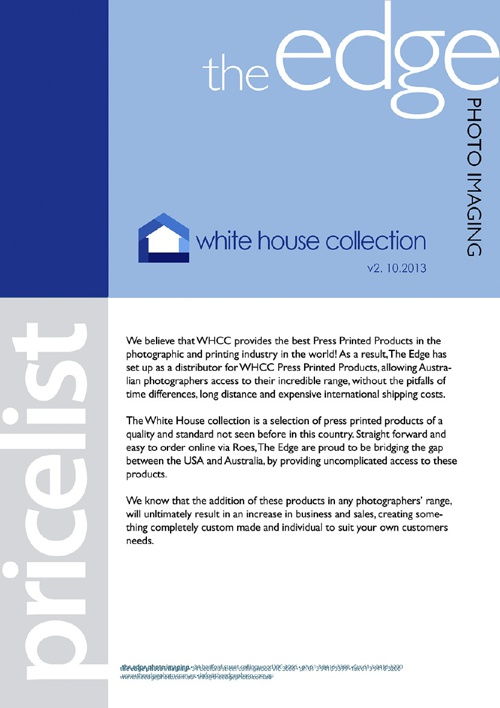 The Edge White House Collection Products