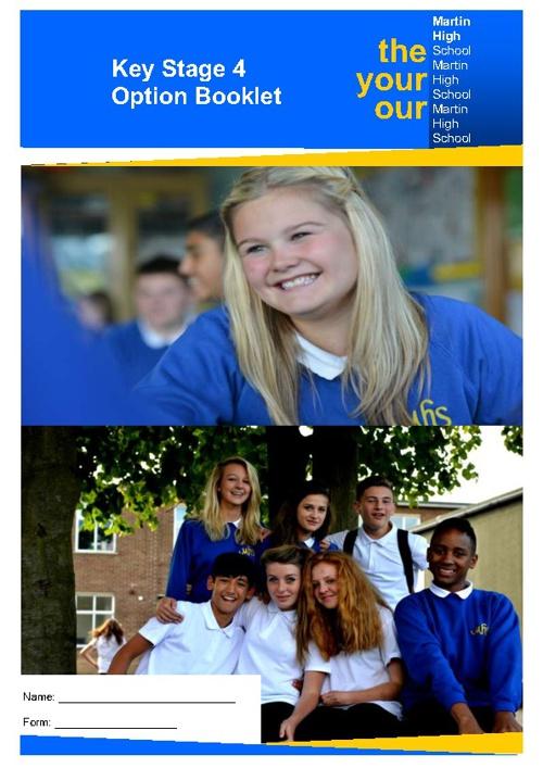 MHS Options Booklet 2012
