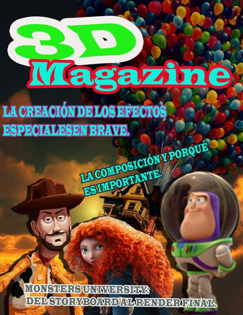 revista 3d Magazine