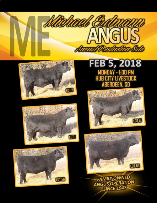 Michael Erdman Angus Annual Production Sale