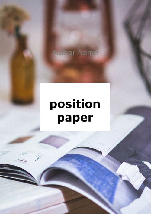 position paper ingles