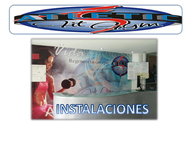 instalaciones gimnasio Atletic fit gym