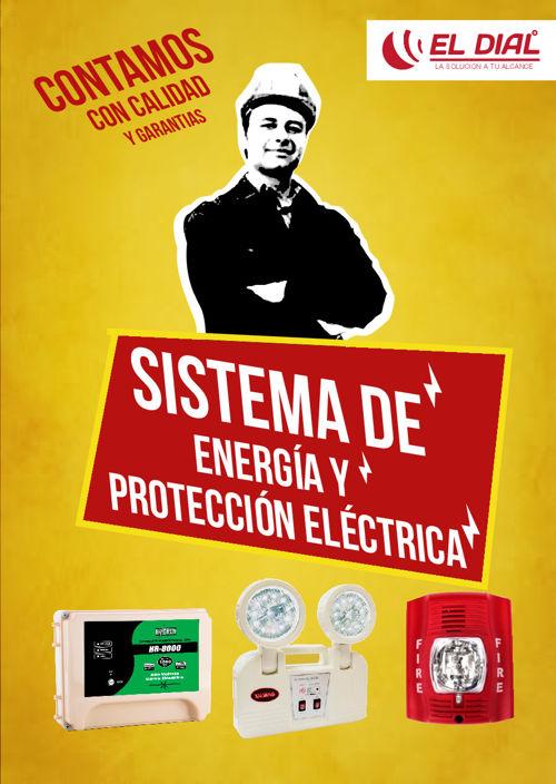 Linea de sistema de energía