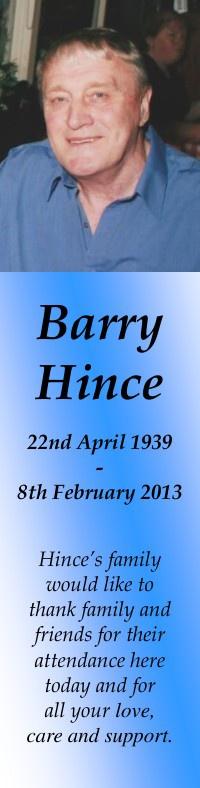 Barry Hince