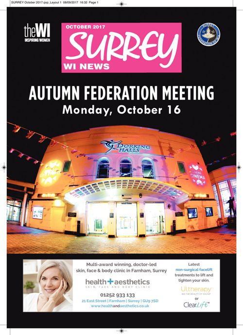 Surrey WI News - October 2017