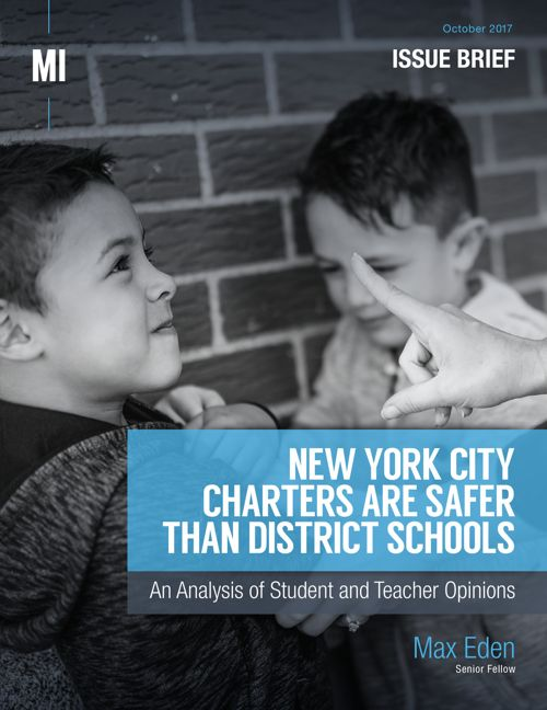 New York City Charters Are Safer Than District Schools