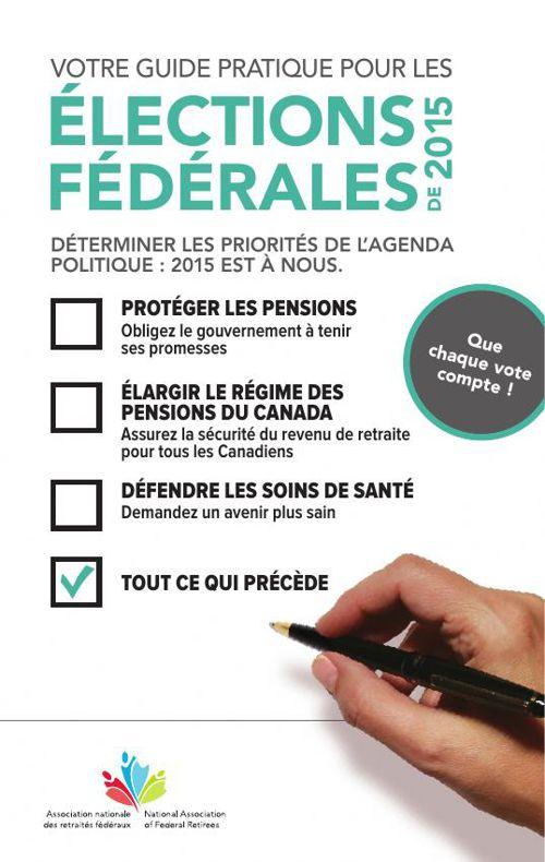 Votre guide pratique pour les élections fédérales de 2015
