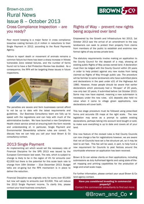 Rural News- Issue 8