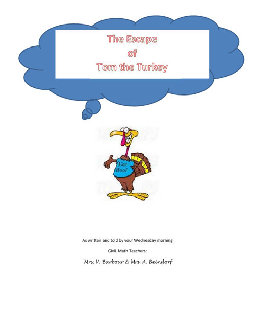 The Premier of Tom The Turkey - Nov. 28th